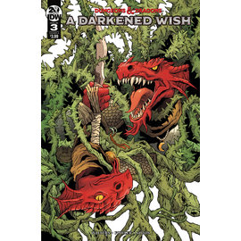 IDW PUBLISHING DUNGEONS & DRAGONS A DARKENED WISH #3 CVR A FOWLER