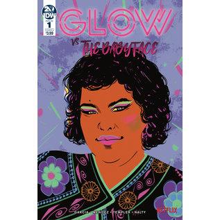 IDW PUBLISHING GLOW VS THE BABYFACE #1 CVR A FISH