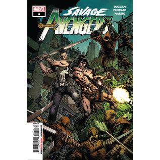 Marvel Comics SAVAGE AVENGERS #4