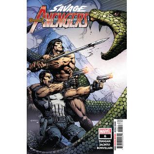 Marvel Comics SAVAGE AVENGERS #6