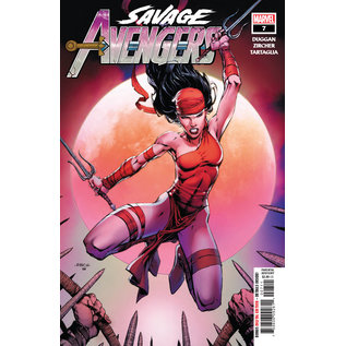 Marvel Comics SAVAGE AVENGERS #7