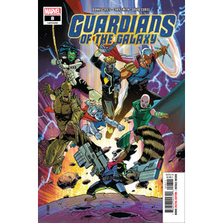 Marvel Comics GUARDIANS OF THE GALAXY #8