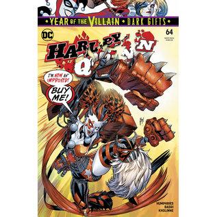 DC Comics HARLEY QUINN #64 YOTV DARK GIFTS