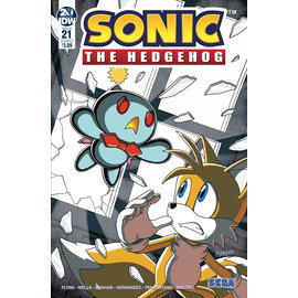 IDW PUBLISHING SONIC THE HEDGEHOG #21 CVR A HAMMERSTROM (C: 1-0-0)