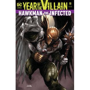 DC Comics HAWKMAN #18 YOTV ACETATE