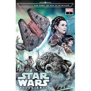 Marvel Comics JOURNEY STAR WARS RISE SKYWALKER ALLEGIANCE #1