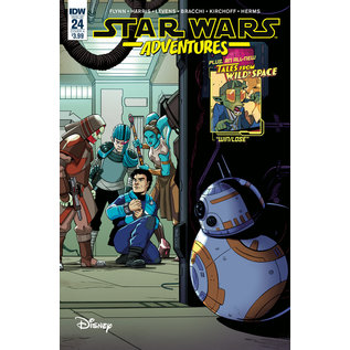 IDW PUBLISHING STAR WARS ADVENTURES #24 CVR A LEVENS (C: 1-0-0)