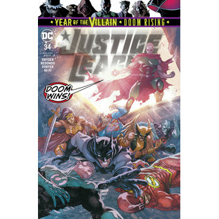 DC Comics JUSTICE LEAGUE #34  YOTV