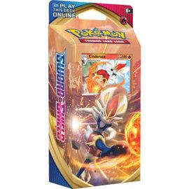 Pokemon Company Sword & Shield Theme Deck Cinderace