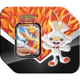 Pokemon Company Spring 20 Galar Partners Tin Cinderace
