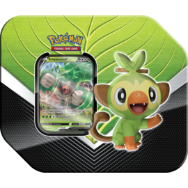 Pokemon Company Spring 20 Galar Partners Tin Rillaboom