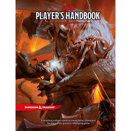 Wizards of the Coast D&D: Players Handbook