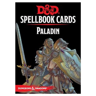Wizards of the Coast D&D: Spellbook Cards - Paladin Deck