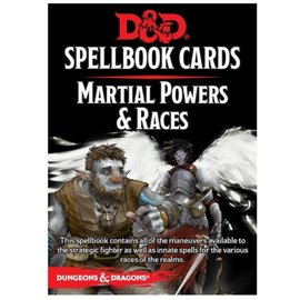 Wizards of the Coast D&D: Spellbook Cards - Martial Powers & Races Deck