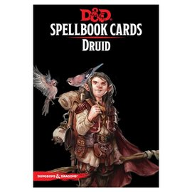 Wizards of the Coast D&D: Spellbook Cards - Druid Deck