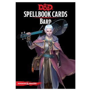 Wizards of the Coast D&D: Spellbook Cards - Bard Deck