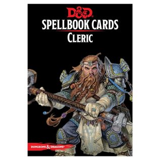 Wizards of the Coast D&D: Spellbook Cards - Cleric Deck