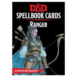 Wizards of the Coast D&D: Spellbook Cards - Ranger Deck