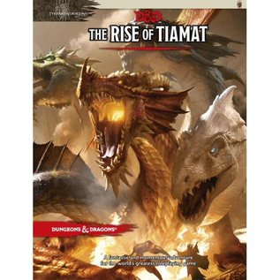 Wizards of the Coast D&D: The Rise of Tiamat