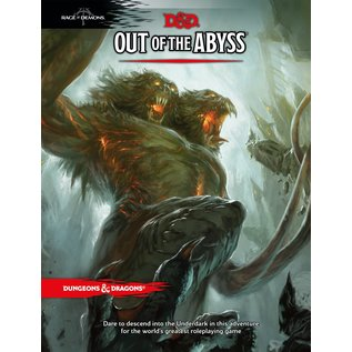 Wizards of the Coast D&D: Out of the Abyss