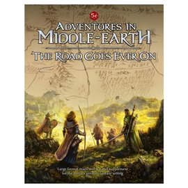 Cubicle Seven D&D: Adventures in Middle Earth - The Road Goes Ever On