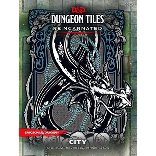 Wizards of the Coast D&D 5th Edition Tiles: City