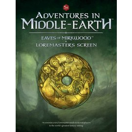 Cubicle Seven D&D: Adventures in Middle Earth - Elves of Mirkwood Loremaster's Screen
