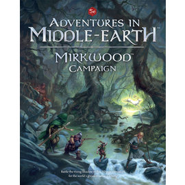 Cubicle Seven D&D Adventures in Middle-Earth Mirkwood Campaign