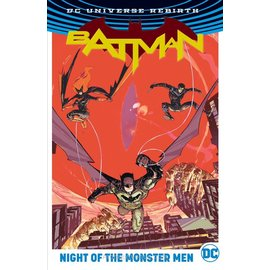 DC Comics Batman Night of the Monster Men HC