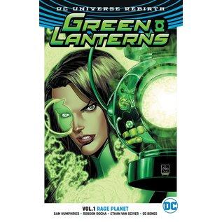 DC Comics Green Lanterns TP Vol 1 Rage Planet