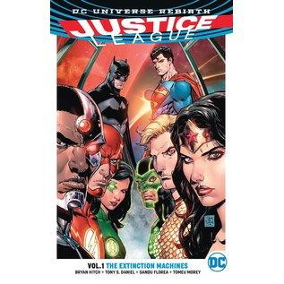 DC Comics Justice League TP VOL 1 The Extinction Machines
