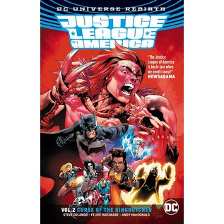 DC Comics JUSTICE LEAGUE OF AMERICA TP Vol 2 Curse of the Kingbutcher