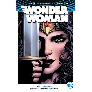 DC Comics Wonder Woman TP Vol 1 The Lies