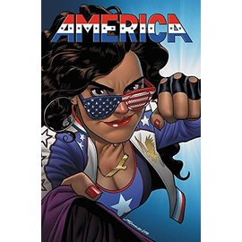 Marvel Comics AMERICA TP VOL 1 THE LIFE & TIMES  OF AMERICA CHAVEZ