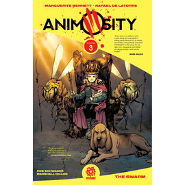 Aftershock Comics ANIMOSITY TP VOL 3 THE SWARM