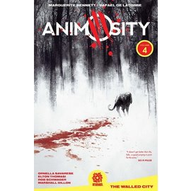 Aftershock Comics ANIMOSITY TP VOL 4 WALLED CITY