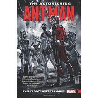 Marvel Comics THE ASTONISHING ANT-MAN TP VOL 1 EVERYBODY LOVES TEAM-UPS