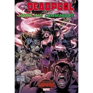 Marvel Comics MRS DEADPOOL AND HOWLING COMMANDOS