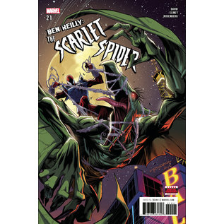 Marvel Comics BEN REILLY: THE SCARLET SPIDER #21