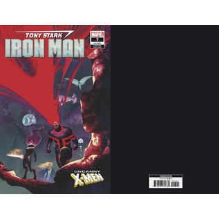 Marvel Comics TONY STARK: IRON MAN #07 UNCANNY X-MEN VAR
