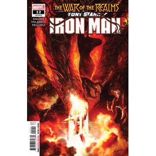 Marvel Comics TONY STARK: IRON MAN #12 War of the Realms Tie-in