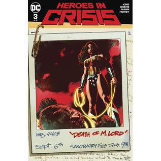 DC Comics HEROES IN CRISIS #3 (OF 9) VAR ED