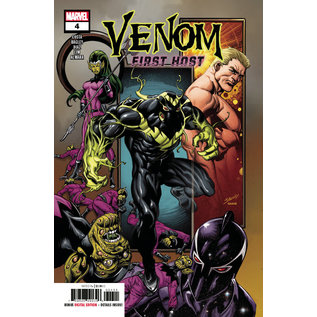 Marvel Comics VENOM FIRST HOST #4 (OF 5)