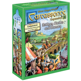 Z-Man Games Carcassonne: Bridges, Castles & Bazaars