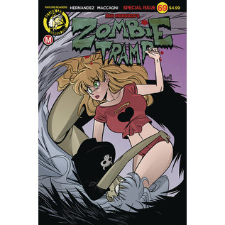 ACTION LAB - DANGER ZONE Zombie Tramp Ongoing #69 Cover A Maccagni