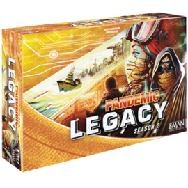 Z-Man Games Pandemic Legacy Season 2 Yellow Box