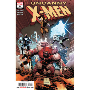 Marvel Comics UNCANNY X-MEN #21 (2019)