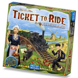 Days of Wonder Ticket to Ride: Map Collection 4 - Nederland