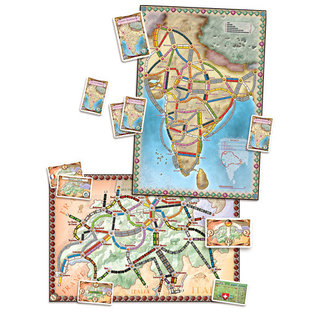 Days of Wonder Ticket to Ride: Map Collection 2 - India and Switzerland