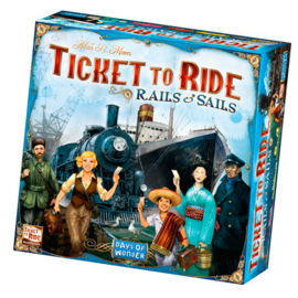 Days of Wonder Ticket to Ride: Rails and Sails